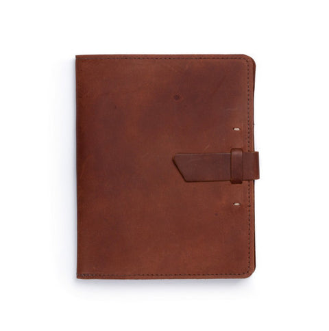 Leather iPad X-Case - Available in Multiple Colors