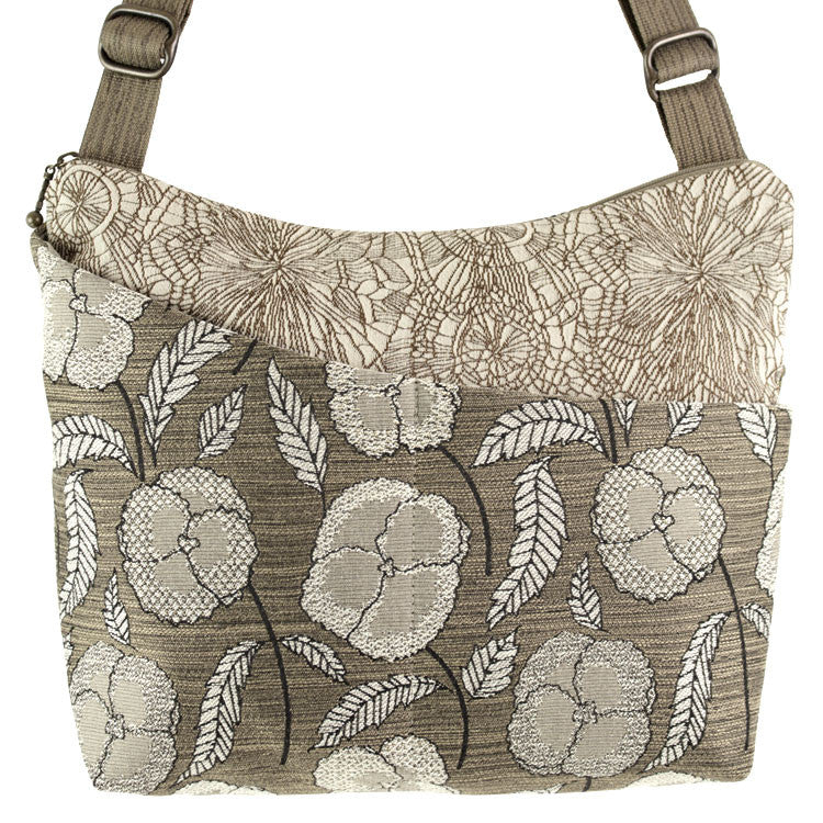 Maruca Cottage Bag in Rustic Pansy