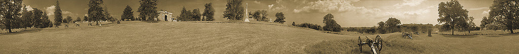 Cemetery Hill Panoramic Photo by James O. Phelps