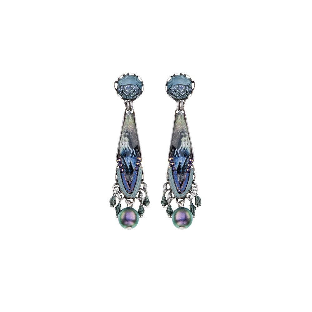 Blue Planet Carrie Earrings by Ayala Bar
