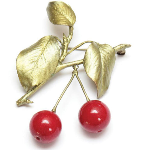 Cherry Pin by Michael Michaud