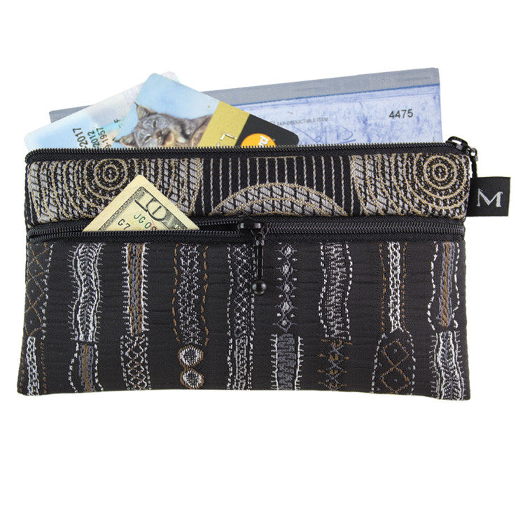 Maruca Heidi Wallet in Stitch Black