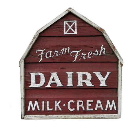 Farm Fresh Dairy Barn Americana Art