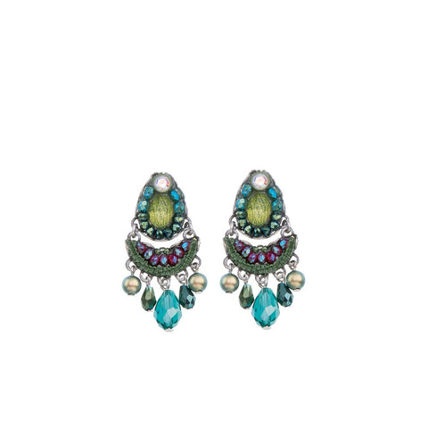 Summer Lawns Vegas Earrings by Ayala Bar