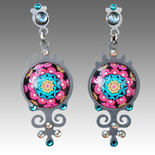 African Motif Rio Earrings