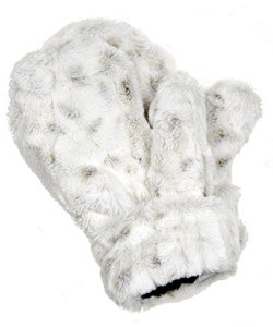 Winter Frost Luxury Faux Fur Mittens