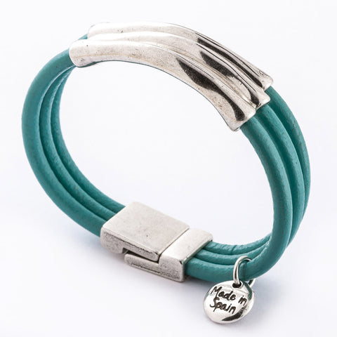 Rebellious Leather Bracelet