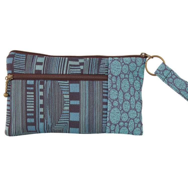 Maruca Beetle Wristlet in Optic Blue