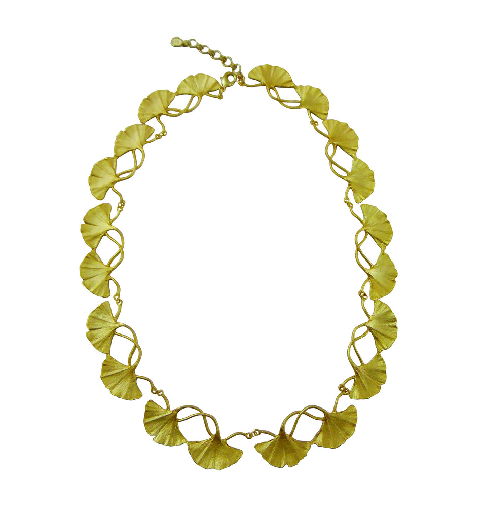 Ginkgo Tailored Necklace with 16'' Adjustable Chain