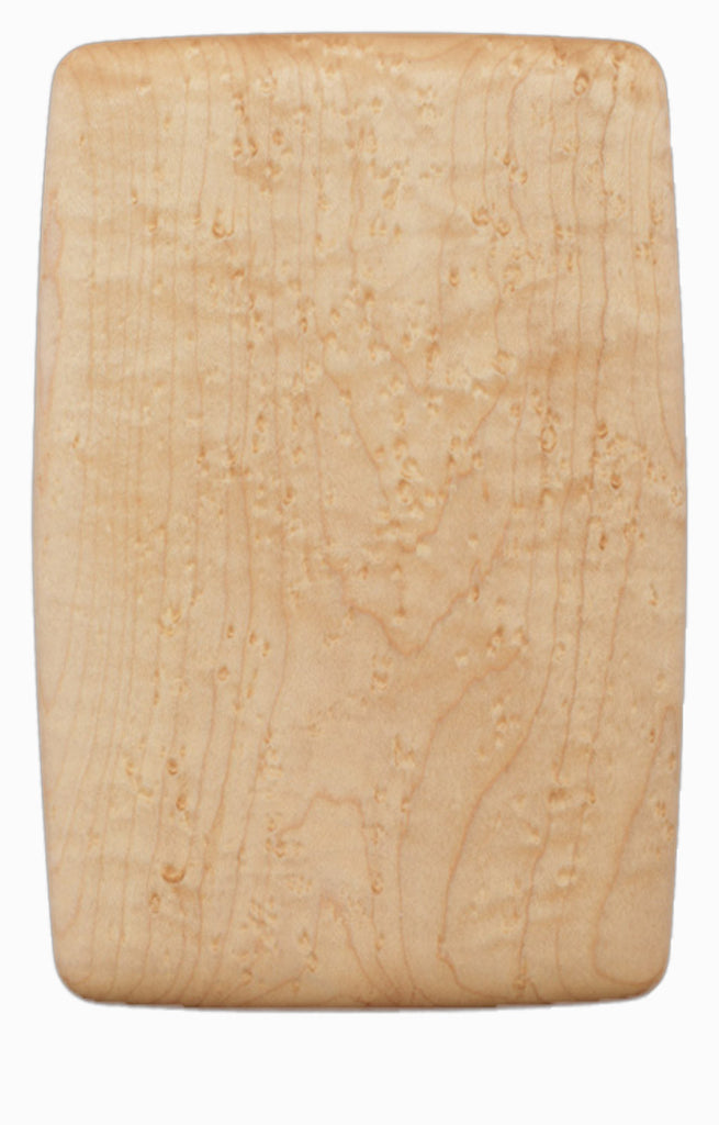 Bird's Eye Maple Pate Board - 5.5 inches x 8.25 inches