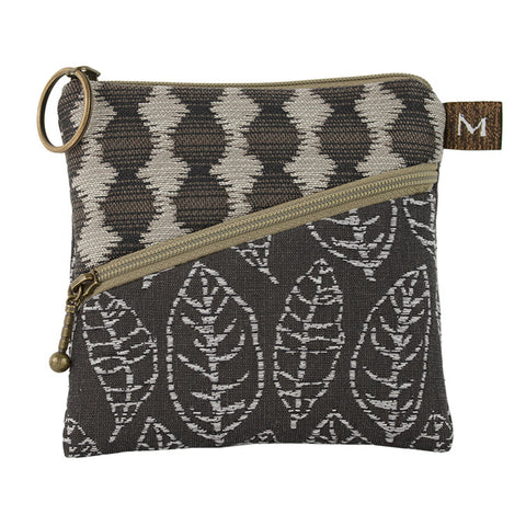 Maruca Roo Pouch in Rustic Leaves