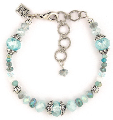 New Blue B Bracelet by Desert Heart