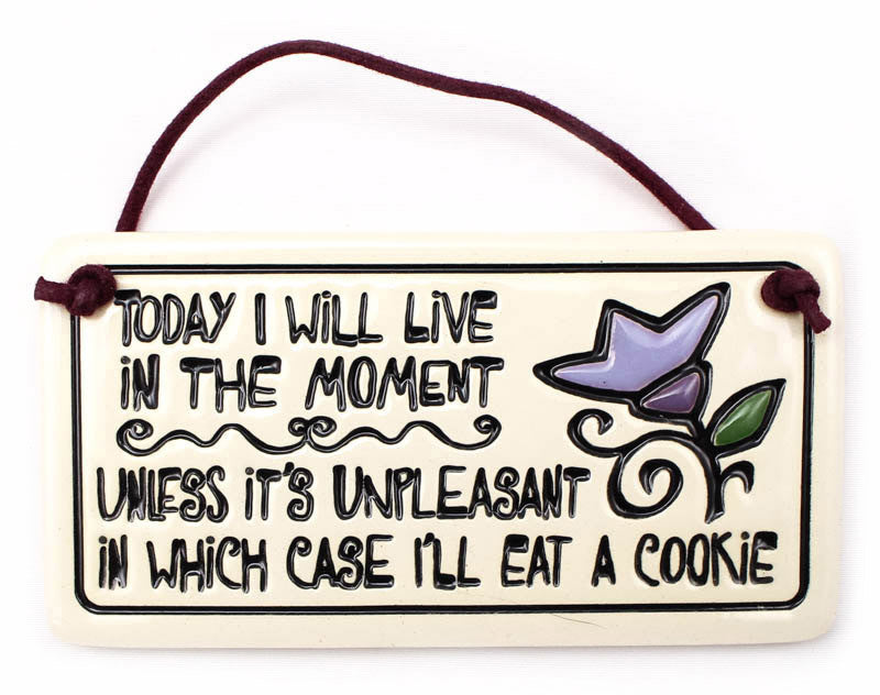 Eat A Cookie Charmer Ceramic Tile