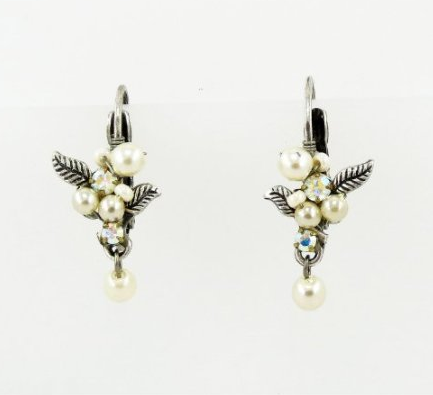 Pearl Earrings by Firefly Jewelry
