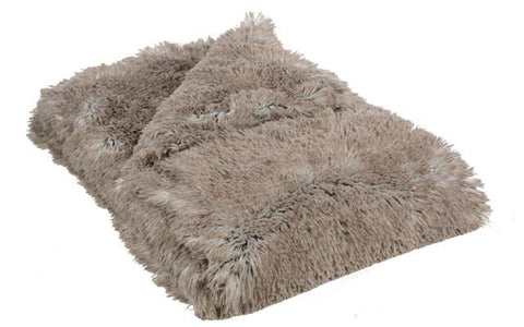 Arctic Fox Luxury Faux Fur Throw