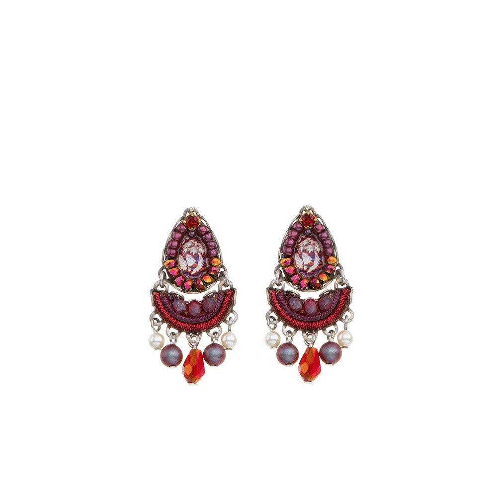 Ruby Tuesday Iowa Earrings by Ayala Bar