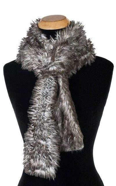 Arctic Fox Luxury Faux Fur Scarf