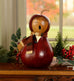 Harpers Caroler Medium Gourd Lady