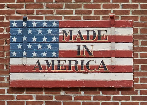 Made in America Exterior Americana Art