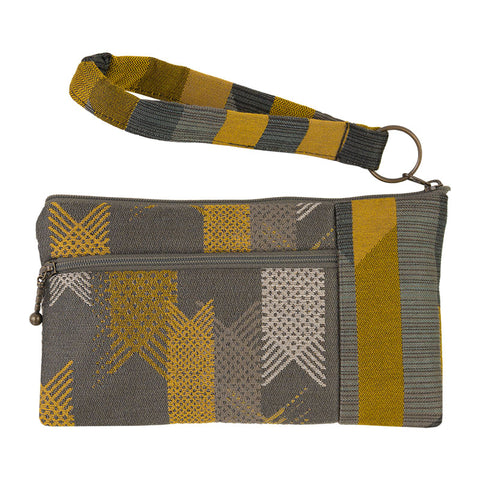 Maruca Beetle Wristlet in Lattice Grey