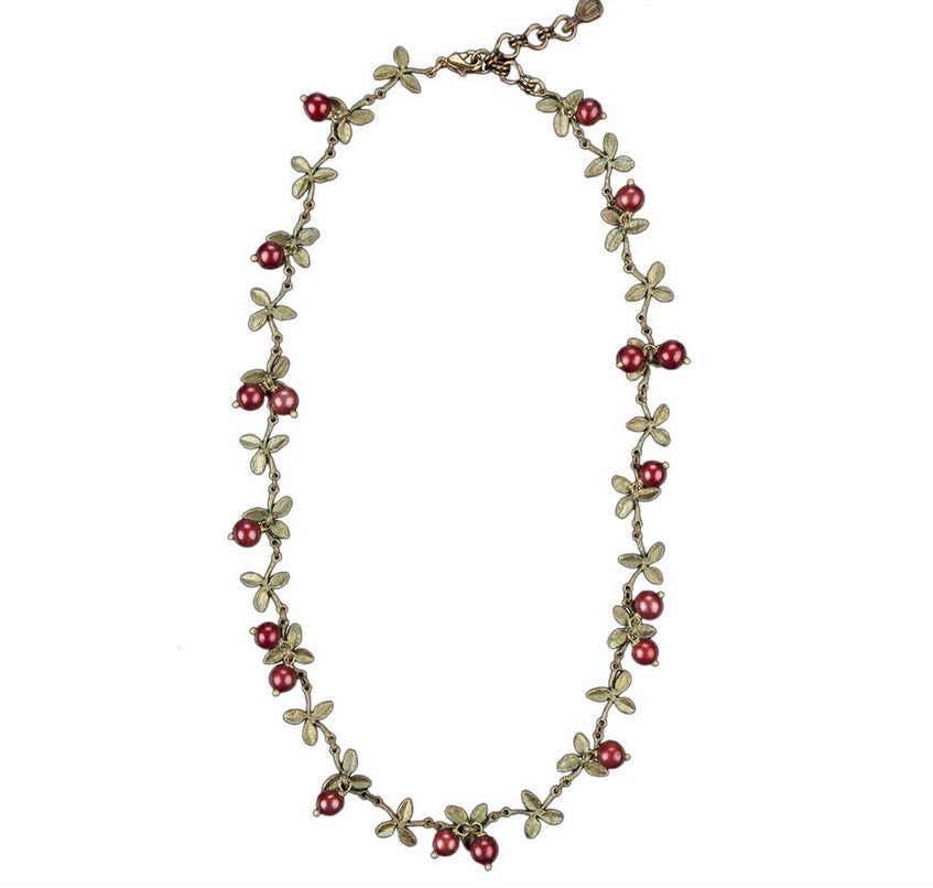 Cranberry Necklace