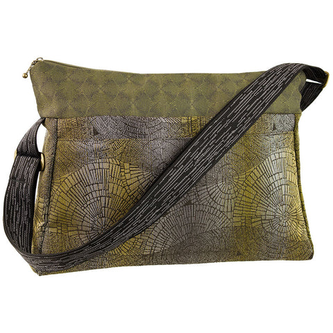 Maruca Caddy Bag in Pewter Forest