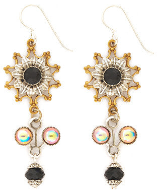 Byzantine Flower Earrings by Desert Heart