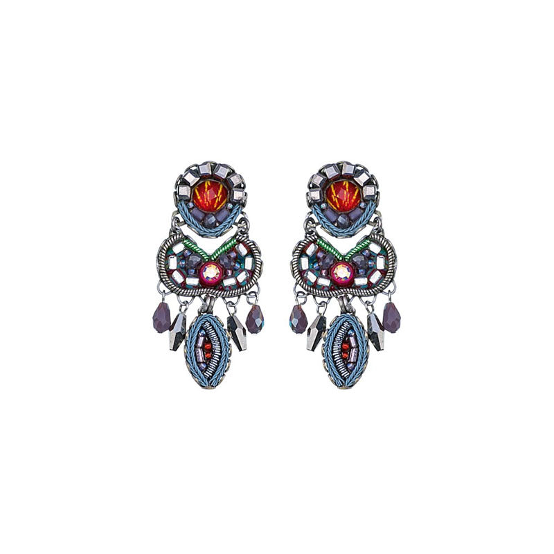 Coral Reef Harper Earrings by Ayala Bar