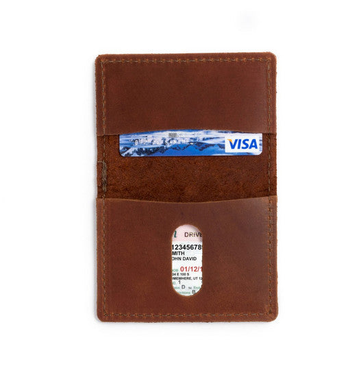 Leather Voyager Wallet - Available in Multiple Colors