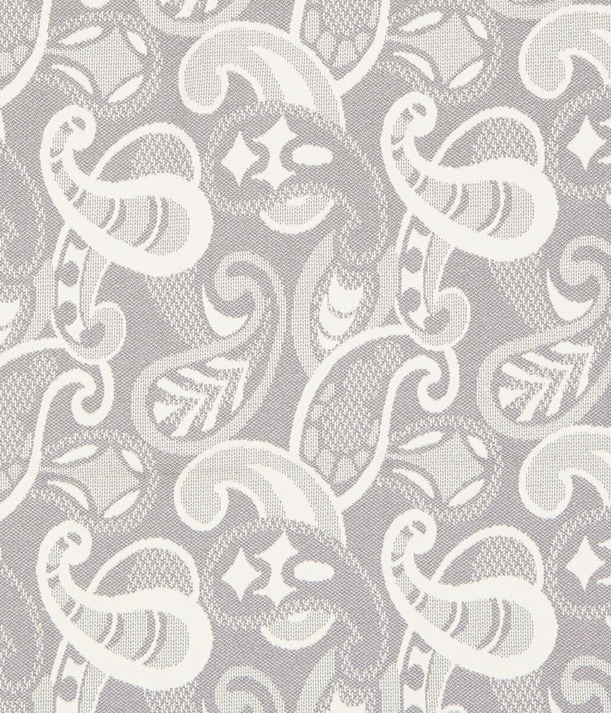 Paisley Throw in Grey