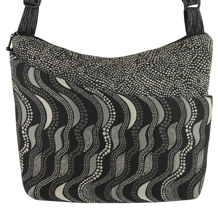 Maruca Cottage Bag in Fluid Black