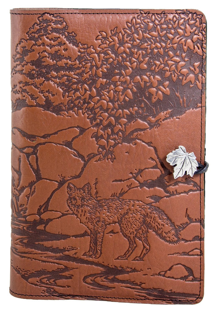 Small Leather Journal - Mr. Fox in Saddle