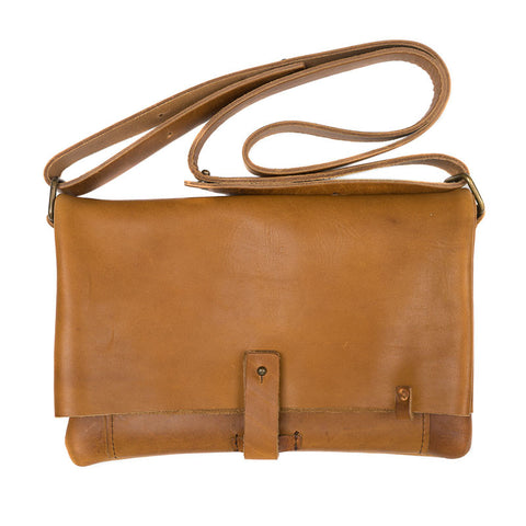 Leather Parcel Foldover Clutch - Available in Multiple Colors