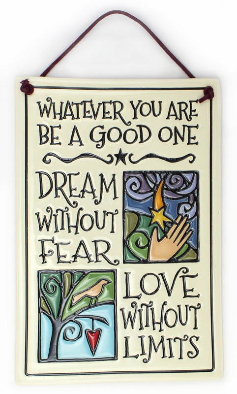 Be A Good One Ceramic Tile