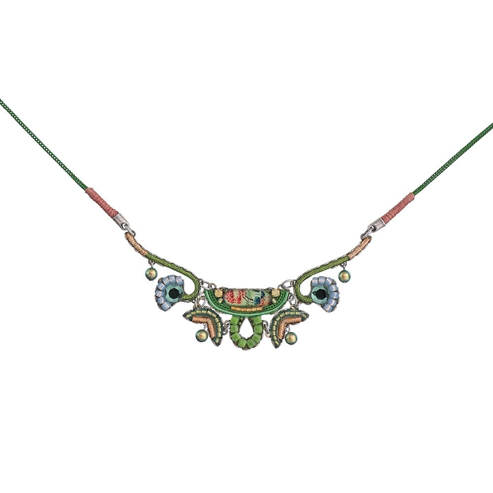 Daylily Greenie Necklace by Ayala Bar