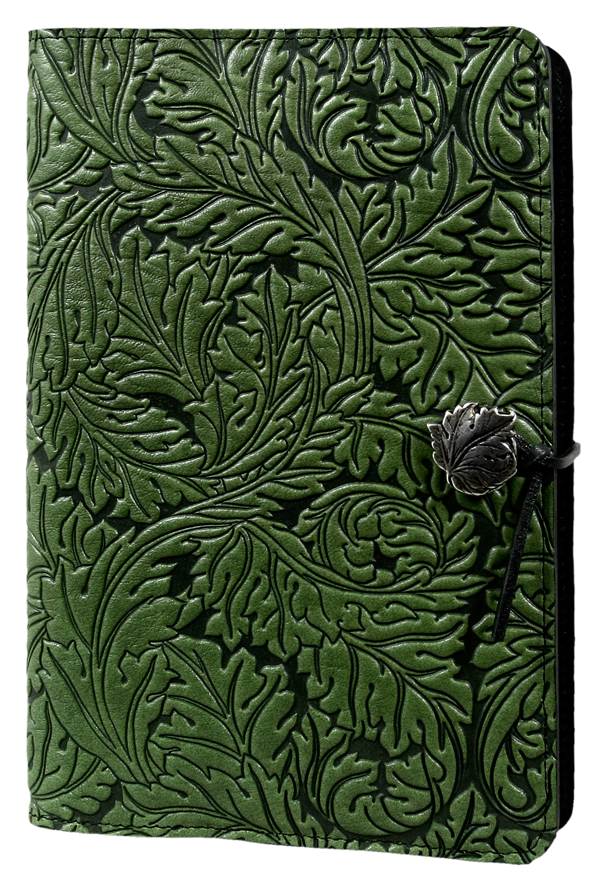Acanthus Leaf Large Journal in Fern