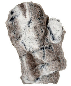 Birch Luxury Faux Fur Mittens