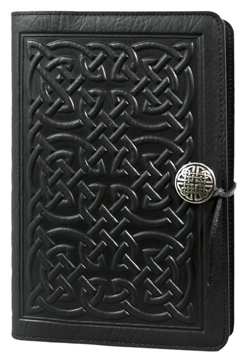 Bold Celtic Large Journal in Black