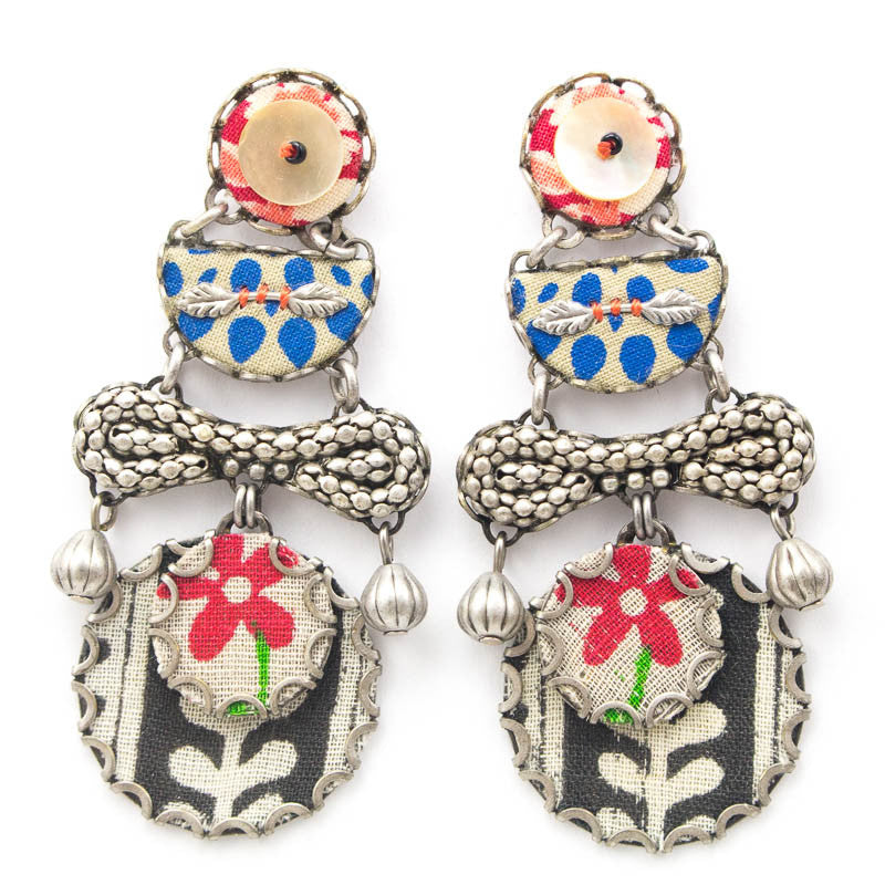 Summer Picnic Hip Collection Earrings by Ayala Bar