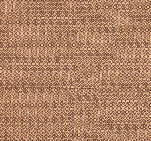 Angstadt #36 Queen Coverlet in Brown and Tan