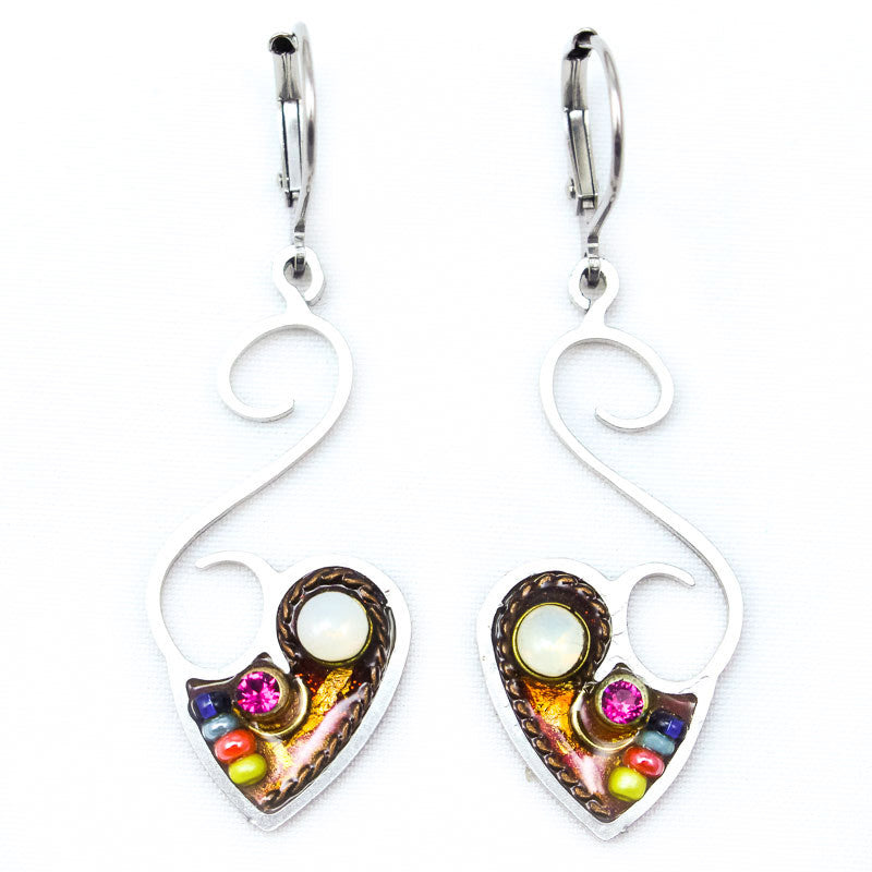 Forever Lovely Heart Earrings