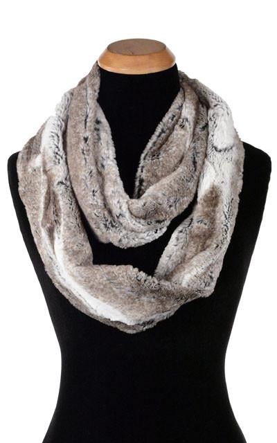 Birch Luxury Faux Fur Infinity Scarf