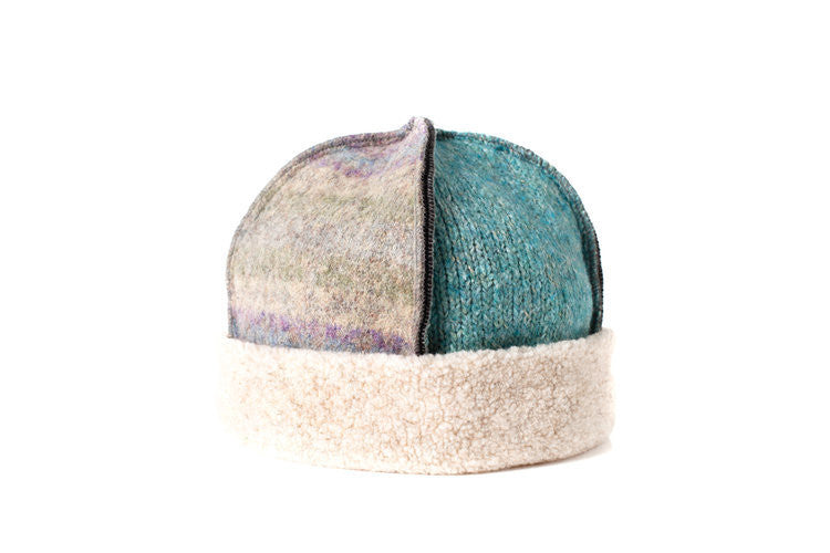 Wool Seamed Hat in Pastel