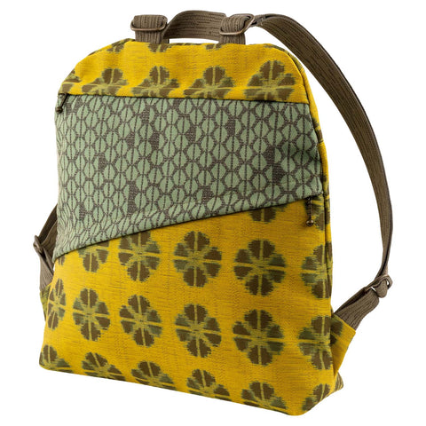 Maruca Backpack in Kyoto Yellow
