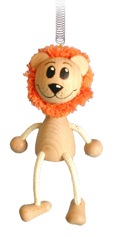 Lion Handcrafted Wooden Jumpie
