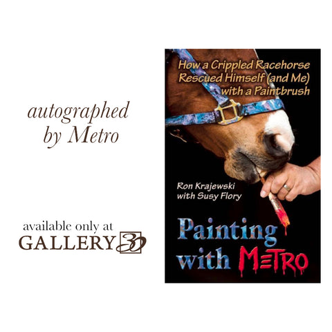 Painting with Metro by Ron Krajewski with Susy Flory