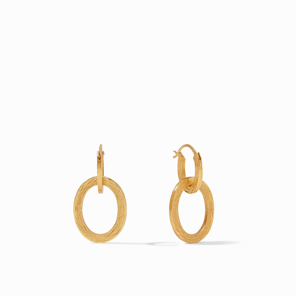 Aspen 2 in 1 Earring Gold by Julie Vos