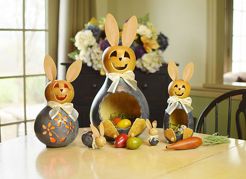 Charlie Bunny Gourd - Available in Multiple Sizes