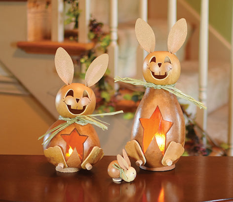 Poppy Bunny Gourd - Available in Multiple Sizes