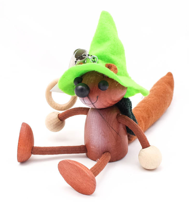 Squirrel Handcrafted Wooden Jumpie
